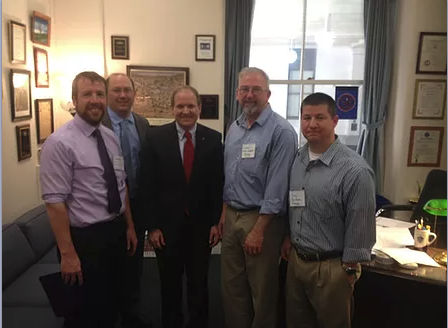 Day on the hill with Rep. Smola